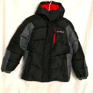 Boys Magellan Puffer Jacket Removable Hood